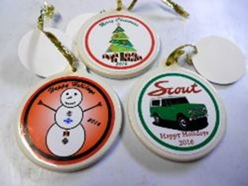 Picture of 2016 SET of 3 Ornaments