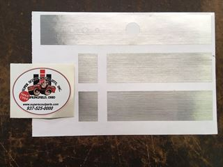 Picture of Brushmetal Air Conditioning Duct Decal