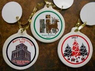 Picture of 2017 SET of 3 Ornaments
