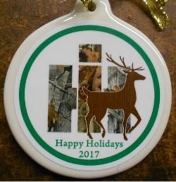 Picture of 2017 IH Camo Deer Ornament