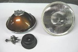 Picture of H4 Round Headlight Bulb Conversion