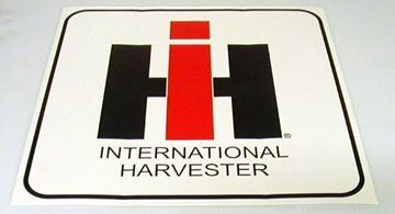 "Picture of 60s Style 2"" IH Decal with Border"