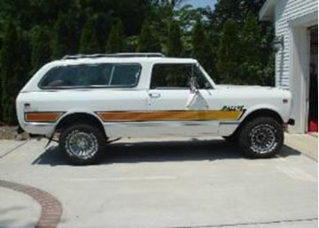 Picture of 1980 Rallye Decal Kit: Black, Yellow and Orange