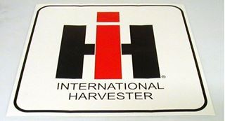 "Picture of 60s Style 4"" IH Decal"