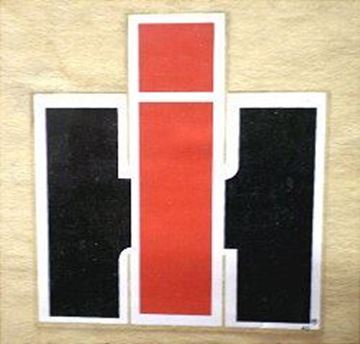 Picture of 70s Style IH Decal, 6""