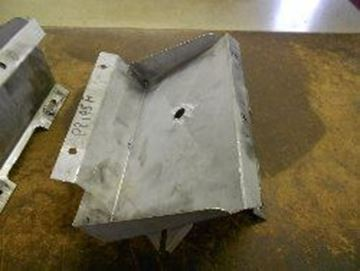 Picture of Diesel Battery Tray Left, '60-'68 Pickup and Travelall