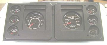 Picture of Gauge Cluster NOS (Metric), '70s-'80s S-Series Truck