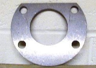 Picture of Rear axle bearing retainer plate Dana 44, Scout, Scout II