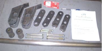 "Picture of 6"" CPT Reverse Shackle Kit, Scout II"