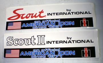 Picture of An Official American Icon Bumper sticker, Scout Script