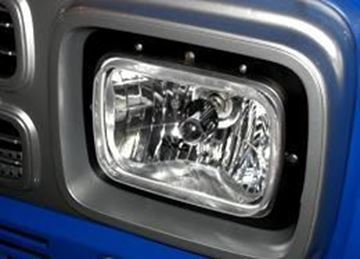 Picture of H4 Square Headlight Bulb Conversion