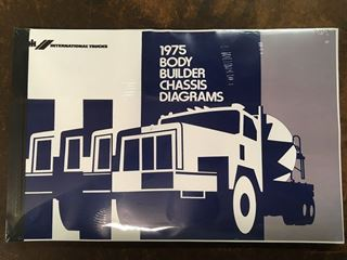 Picture of IH Service Body Builder Book 1975, Scout II, Medium and Heavy Duty Trucks