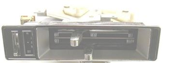 Picture of Heater Control Assembly without A/C NOS