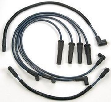 Picture of Spark plug Wires with Prestolite Distributor 4 cylinder