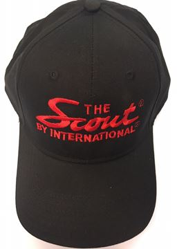 "Picture of ""The Scout by International"" Black Embroidered Hat"