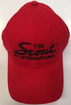 "Picture of ""The Scout by International"" Red Embroidered Hat"