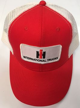 Picture of Summer International Trucks Hat Red and White
