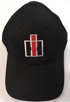Picture of Black Embroidered IH Hat