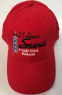 Picture of 25th Annual Scout Nationals Show Hat Red