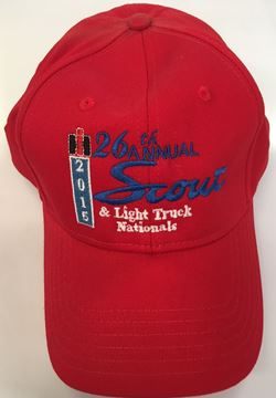 Picture of 26th Annual Scout Nationals Show Hat Red
