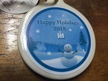 Picture of 2018 Happy Holidays Ornaments