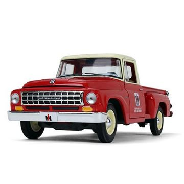 Picture of First Gear Diecast 1/25 Scale 1963 International C1100 Pickup IH PARTS RED