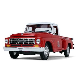 Picture of First Gear Diecast 1/25 Scale 1963 International C1100 Pickup IH TRUCKS RED