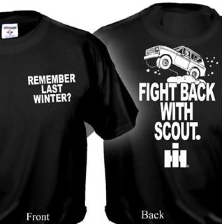 "Picture of Remember Last Winter?"" SCOUT T-Shirt!! (WHITE DESIGN)"