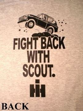 "Picture of Remember Last Winter?"" SCOUT T-Shirt!! (BLACK DESIGN)"