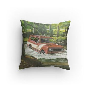 Picture of IH Scout II Pillow!