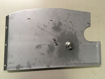 Picture of Fuel Tank Compartment Shields Left, Scout 80