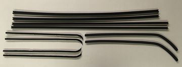 Picture of Door Felt and Seal Kit for '61-'68 Pickup, Travelall and Loadstar