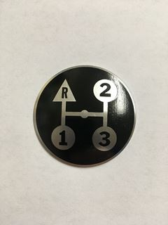 Picture of 3 Speed shift knob plate