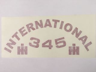 Picture of 345 Decal