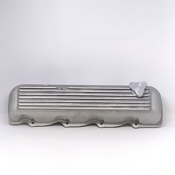 Picture of Ribbed Aluminum Valve Cover for IH SV engines, Scout, Scout II, Pickup Travelall