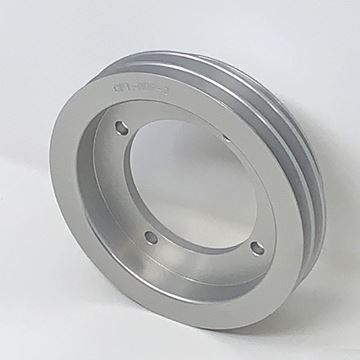 Picture of CPT Billet Aluminum Accessory Drive Pulley with Three V Belt Grooves for IH Engine