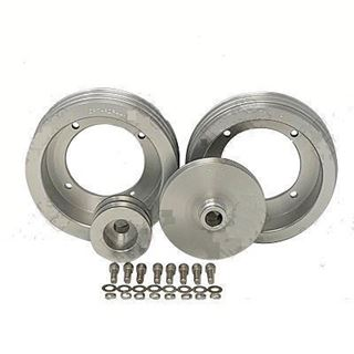 Picture of CPT Billet Aluminum Pulley Kit for 1971-80 Scout II, Terra or Traveler w/ Dampner & No A/C