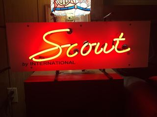 Picture of IH Scout Neon Sign