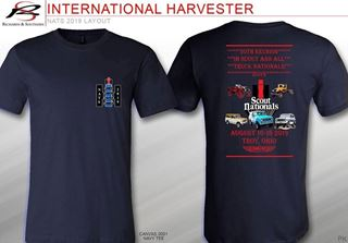 Picture of 30th Reunion  Scout & ALL Truck Nationals 2019 T-shirts Blue