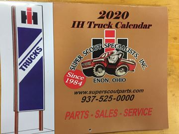 Picture of 2020 Calendar