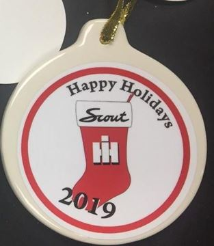 Picture of 2019 IH Scout Christmas Stocking Ornament