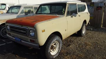 Picture of 1977 Scout II TAN SOLD