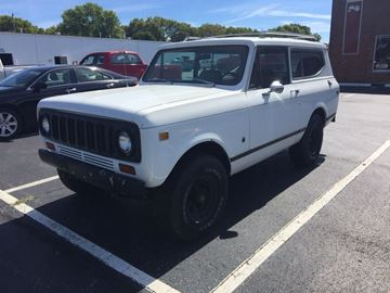 Picture of 1977 Scout II White SOLD