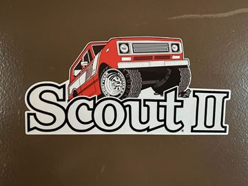 Picture of Scout II Cool Decal! Cut out Style