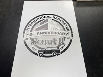 Picture of 50th Anniversary of the Scout II! Poster!