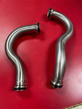 Picture of Stainless! IH v8 and 4cyl Water Pipes, Scout, Scout II Pickup Travelall