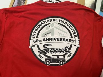 Picture of NEW 60th Anniversary of the Scout! T-shirts