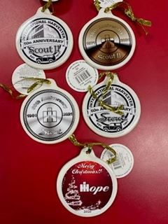 Picture of 2020 SET of 3 Ornaments