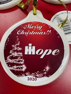Picture of 2020 Merry Christmas IHope! Ornament