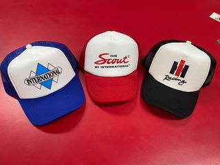 Picture of Simple Designed IH Racing, Scout, Triple Diamond Hats!